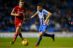 Tomer Hemed of Brighton & Hove Albion in action - Mandatory by-line: Jason Brown/JMP - 24/01/2017 - FOOTBALL - Amex Stadium - Brighton, England - Brighton & Hove Albion v Cardiff City - Sky Bet Championship