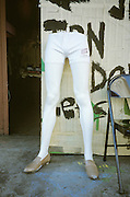 lower half of a mannequin