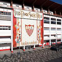 Sanchez Pizjuan stadium, belonging to Sevilla FC, Sevilla, Spain