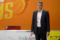 Zoran Martic, head coach of KK Petrol Olimpija Ljubljana during basketball match between KK Helios Suns and KK Petrol Olimpija in Playoffs of Liga Nova KBM 2017/18, on March 26, 2018 in Hala Kominalnega Centra, Domzale, Slovenia. Photo by Urban Urbanc / Sportida