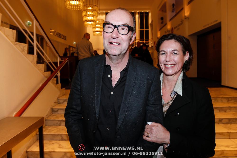 NLD/Utrecht/20130122 - Premiere Adele, Bart Chabot en partner Jolanda van den Burg