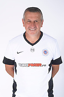 Pascal BAILLS - 23.07.2014 - Portraits officiels Montpellier - Ligue 1 2014/2015<br /> Photo : Icon Sport