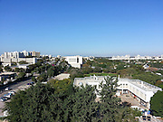 Elevated General view of the Tel Aviv University, Israel