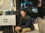 Interior designer and author Nate Berkus demonstrates tips for styling one's world through Scent Decor with Unstopables, a suite of long-lasting air, home & fabric care scents, at a launch event at Maison 24 in New York, Thursday, Feb. 19, 2015.  (Photo by Diane Bondareff/Invision for Unstopables/AP Images)