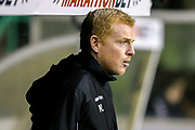Hibernian manager Neil Lennon during the Ladbrokes Scottish Premiership match between Hibernian and Rangers at Easter Road, Edinburgh, Scotland on 19 December 2018.