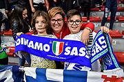 Tifosi Banco di Sardegna Dinamo Sassari<br /> Banco di Sardegna Dinamo Sassari - Baxi Manresa<br /> FIBA Basketball Champions League BCL 2019-2020<br /> Sassari, 03/12/2019<br /> Foto L.Canu / Ciamillo-Castoria