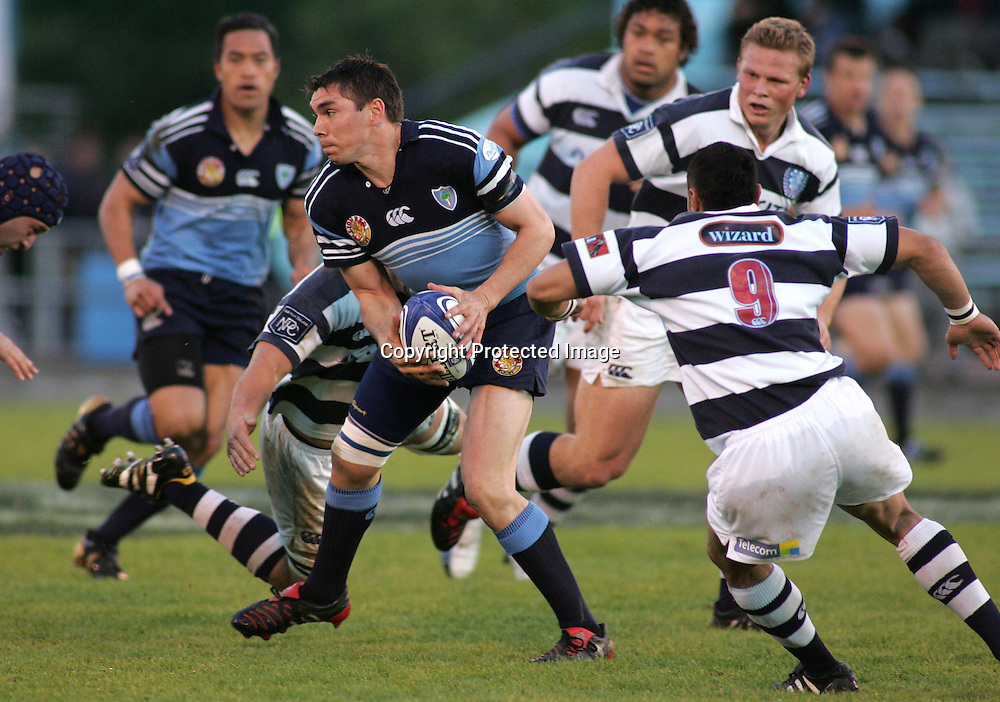 Jared Going in action during the NPC first division match between Northland and Auckland at Whangarei, Northland, New Zealand. Saturday 21 August 2004 . Auckland won the game 37-29 <br />PHOTO: Chris Skelton/PHOTOSPORT