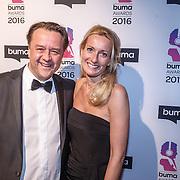NLD/Hilversum/20160215 - Buma Awards 2016, Jeroen van Kooten en partner