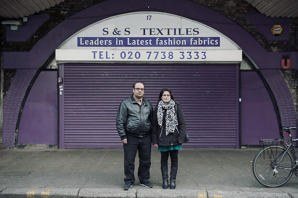 S&amp;S Textiles. <br /> 17 Atlantic Road. <br /> <br /> 10 years ago the Shafiq family took over the textiles shop that has been there for more than 35 years.