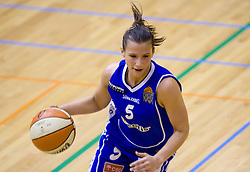 Iva Ciglar of Celje at finals match of Slovenian 1st Women league between KK Hit Kranjska Gora and ZKK Merkur Celje, on May 14, 2009, in Arena Vitranc, Kranjska Gora, Slovenia. Merkur Celje won the third time and became Slovenian National Champion. (Photo by Vid Ponikvar / Sportida)