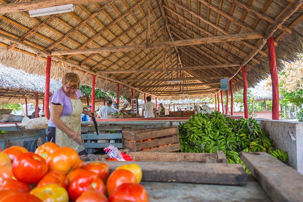 Market in Holguin, Cuba.