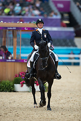 Petra van de Sande (NED) - Valencia Z<br /> Individual Championship Test  - Grade II - Dressage<br /> London 2012 Paralympic Games<br /> © Hippo Foto - Kate Houghton