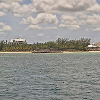 The island of New Providence east, west, north and south parts of the island.