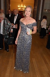 ANNA FORD at The Royal Academy dinner before the official opening of the Summer Exhibition held at the Royal Academy of Art, Burlington House, Piccadilly, London W1 on 6th June 2006.<br />