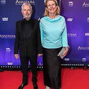 NLD/Scheveningen/20190922- Premiere Musical Anastasia, Pauline Krikke en partner Ron Miltenburg