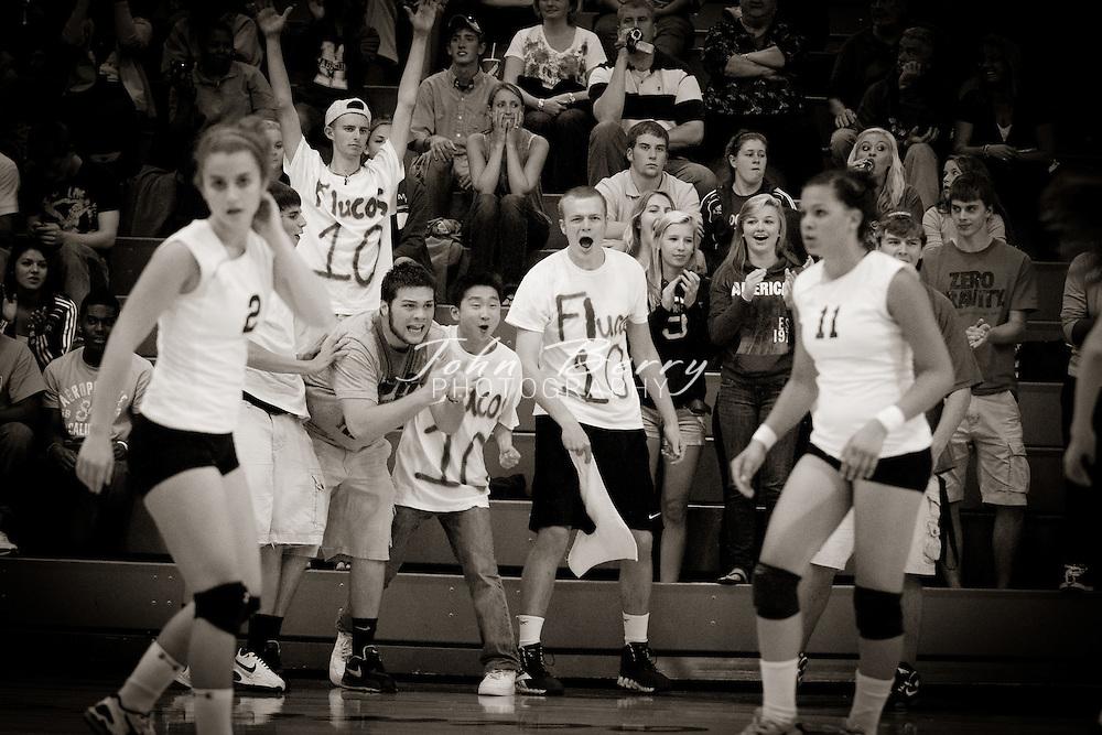 September/6/11:  MCHS Varsity Volleyball vs Fluvanna.  Madison loses to Fluvanna 3-0.