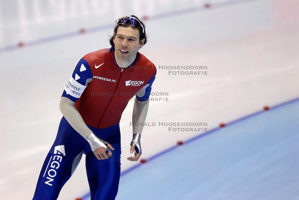 27-01-2007 SCHAATSEN: ESSENT WORLDCUP SPRINT: HEERENVEEN<br /> Gerard van Velde<br /> &copy;2007-WWW.FOTOHOOGENDOORN.NL