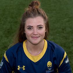 Kirsten James of Worcester Valkyries - Mandatory by-line: Robbie Stephenson/JMP - 14/09/2017 - RUGBY - Sixways Stadium - Worcester, England - Worcester Valkyries Headshots