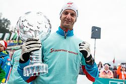 Heinz Kuttin  head coach of Austria during trophy ceremony after Ski Flying Hill Men's Individual Competition at Day 4 of FIS Ski Jumping World Cup Final 2017, on March 26, 2017 in Planica, Slovenia. Photo by Grega Valancic / Sportida
