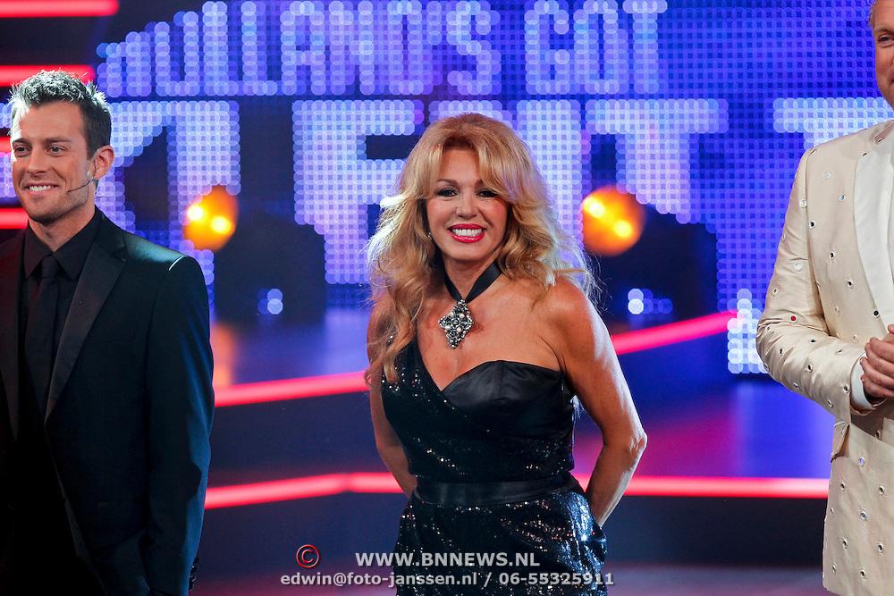 NLD/Hilversum/20100910 - Finale Holland's got Talent 2010, Patricia Paay en Dan Karaty