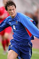 Fotball, 19. juli 2005, Privat-turnering, G17, Island - Tyrkia 3-1,  Eggert Gunnthor Jonsson, Island og Hearts