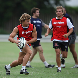 is pictured during the Sharks training session at the Absa Stadium on Tuesday 5th January   Durban, South Africa.. Photo by Steve Haag / Gallo Images