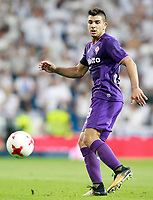 ACF Fiorentina's Giovanni Simeone during Santiago Bernabeu Trophy. August 23,2017. (ALTERPHOTOS/Acero)