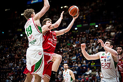 April 29, 2018 - Milan, Milan, Italy - during a basketball game of Poste Mobile Lega Basket A between  EA7 Emporio Armani Milano vs VL Pesaro at Mediolanum Forum, in Milan, Italy, on April 29, 2018. (Credit Image: © Roberto Finizio/NurPhoto via ZUMA Press)