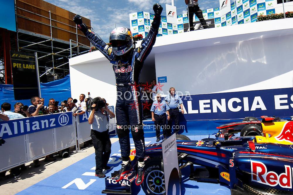 Motorsports / Formula 1: World Championship 2010, GP of Europe, 05 Sebastian Vettel (GER, Red Bull Racing),