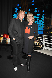 THEO & LOUISE FENNELL at the opening of the new Gaucho restaurant at the O2 Arena, London on 15th May 2008.<br /><br />NON EXCLUSIVE - WORLD RIGHTS