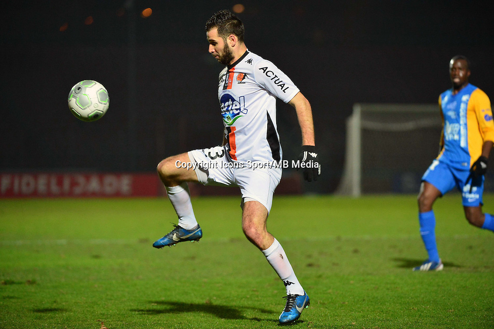 Antony ROBIC - 23.01.2015 - Creteil / Laval - 21eme journee de Ligue 2<br /> Photo : Dave Winter / Icon Sport