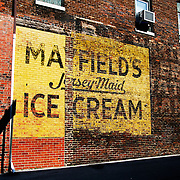 Mayfield Ice Cream advertisement, Harriman Tennessee
