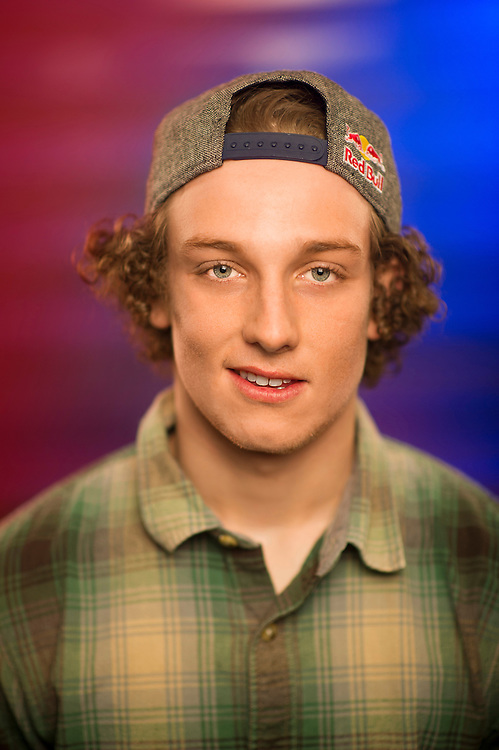 Ben Ferguson poses for a portrait at the RedBull Performance Camp in Aspen Colorado, United States on April 14th, 2013