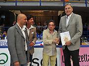 LATINA 27 GIUGNO 2012<br /> BASKET <br /> ITALIA - FINLANDIA<br /> NELLA FOTO DINO MENEGHIN<br /> FOTO CIAMILLO