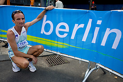 Roman Kejzar  of Slovenia competes in the men's 42km Marathon Race during the 2009 IAAF Athletics World Championships on August 22, 2009 in Berlin, Germany. (Photo by Vid Ponikvar / Sportida)