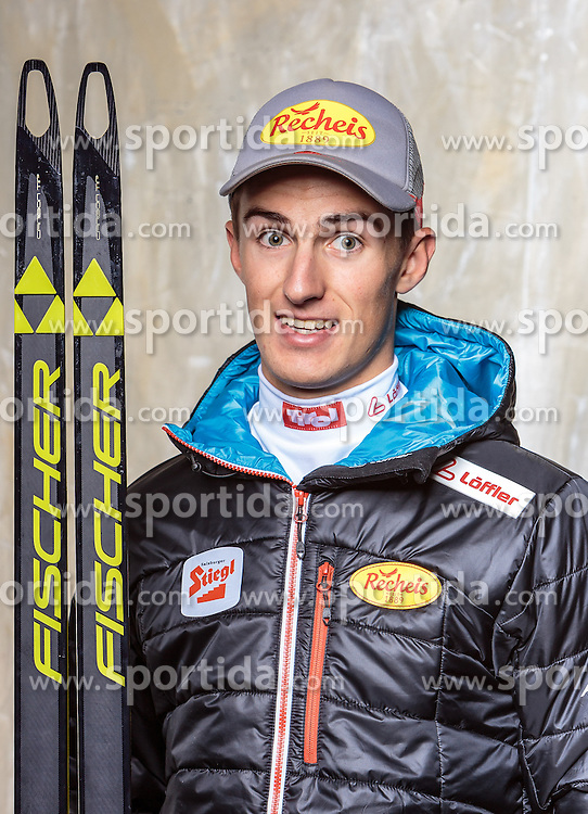 08.10.2016, Olympia Eisstadion, Innsbruck, AUT, OeSV Einkleidung Winterkollektion, Portraits 2016, im Bild Christian Deuschl, Nordische Kombination, Herren // during the Outfitting of the Ski Austria Winter Collection and official Portrait Photoshooting at the Olympia Eisstadion in Innsbruck, Austria on 2016/10/08. EXPA Pictures © 2016, PhotoCredit: EXPA/ JFK