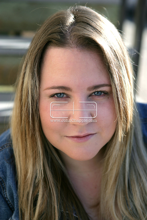 """13th January 2008, Orcutt, California. Stefanie Henderson, who suffered side effects after taking the non-prescription diet drug 'Alli'. """"I couldn't control my bowels,"""" said Henderson. """"I was running to the bathroom, leaving meetings, being in the car and literally being stuck."""" Henderson stopped using Alli after six weeks..PHOTO © JOHN CHAPPLE / REBEL IMAGES.john@chapple.biz    www.chapple.biz"""