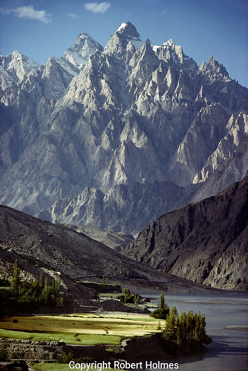 Pasu Peaks on the Karakoram Highway, Hunza, Pakistan