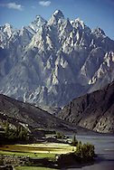 Pasu Peaks on the Karakoram Highway, Hunza, Pakistan