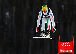 28.11.2012, Birds of Prey, USA, FIS Ski Alpin Weltcup, Abfahrts Training, Herren, im Bild Siegmar Klotz (ITA) // Siegmar Klotz (ITA) during Mens Downhill Training of FIS Ski Alpine World Cup at the Birds of .Prey, Beaver Creek, United States on 2012/11/28. EXPA Pictures © 2012, PhotoCredit: EXPA/ Erich Spiess