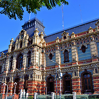 Water Company Palace in Balvanera, Buenos Aires, Argentina<br /> This is the most impressive water treatment building in the world! During the 1870s - a period of high growth for Buenos Aires - the capital city suffered yellow fever because of poor sanitation. The solution? Build a palace. This magnificent, block-long building has beautiful coloring, French Renaissance flair and over 300,000 terracotta tiles created by Royal Doulton. All of this grandeur housed a waterworks system. It is called Palacio de Aguas Corrientes or Water Company Palace. Inside is a small yet fascinating museum.