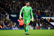 West Bromwich Albion goalkeeper Ben Foster (1) during the Premier League match between West Bromwich Albion and Southampton at The Hawthorns, West Bromwich, England on 3 February 2018. Picture by Dennis Goodwin.