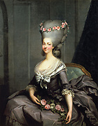 Marie Therese Louise, Princess de Lamballe (1749-1792): Antoine Francois Callet (1741-1823) French painter.