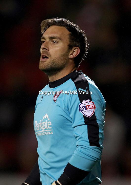 Rotherham United goalkeeper Lee Camp