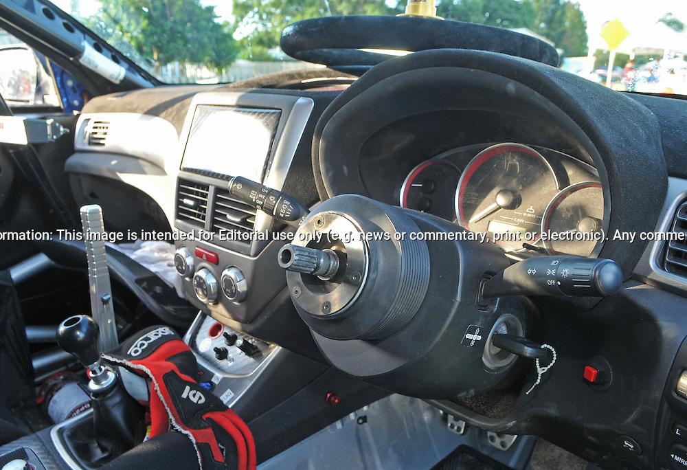 2008 Subaru Impreza Wrx Sti Rally Car Interior Rally Queensland