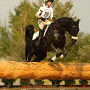 Madeline Blackman (USA) and Gordonstown at the 2007 Bromont Fall Horse Trials held September 20 - 23 at the 1976 Olympic site in Bromont, Quebec, Canada.