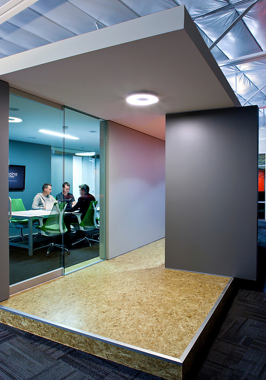 photos of cutting edge paperless office designed by architect Philip Smith. Planning Center is located in Carlsbad, CA.
