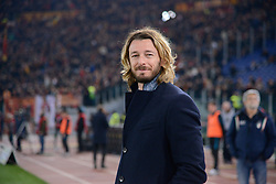 March 2, 2019 - Rome, Lazio, Italy - Federico Balzaretti during the Italian Serie A football match between S.S. Lazio and A.S Roma at the Olympic Stadium in Rome, on march 02, 2019. (Credit Image: © Silvia Lore/NurPhoto via ZUMA Press)