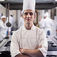 Alejandro P&eacute;rez Jim&eacute;nez, alumno de la Escuela de Hosteler&iacute;a y Turismo de Madrid.<br /> Paseo Puerta del &Aacute;ngel, Casa de Campo.