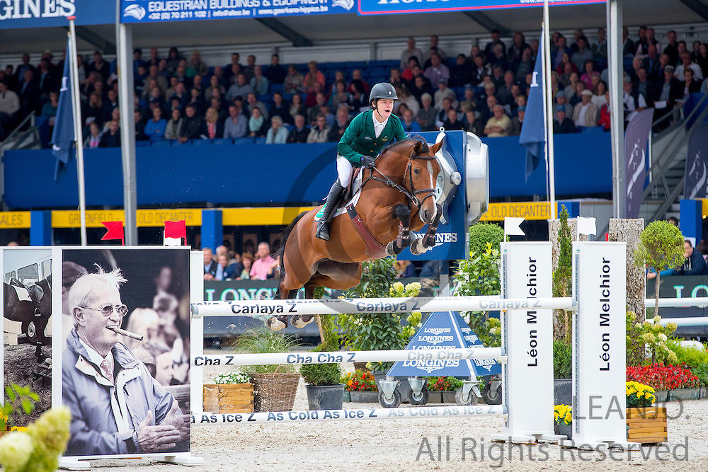 Michael Pender - Z Seven Caretina<br /> FEI World Breeding Jumping Championships for Young Horses 2016<br /> © DigiShots